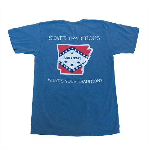 Arkansas Traditional T-Shirt Blue