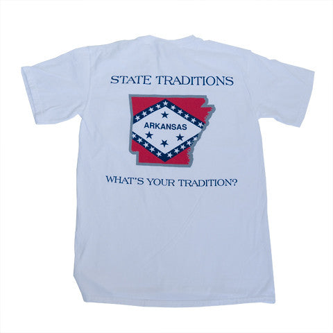 Arkansas Traditional T-Shirt White