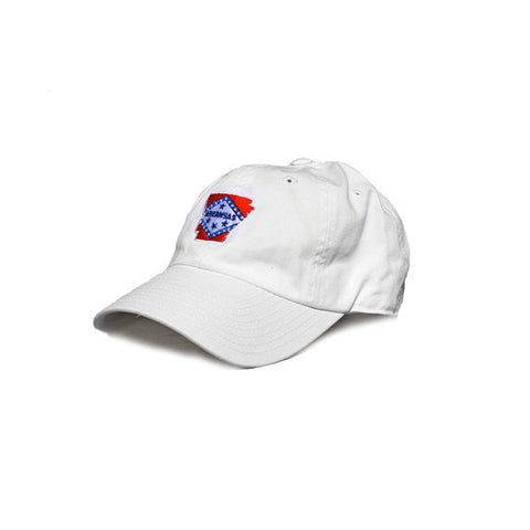 Arkansas Traditional Hat White