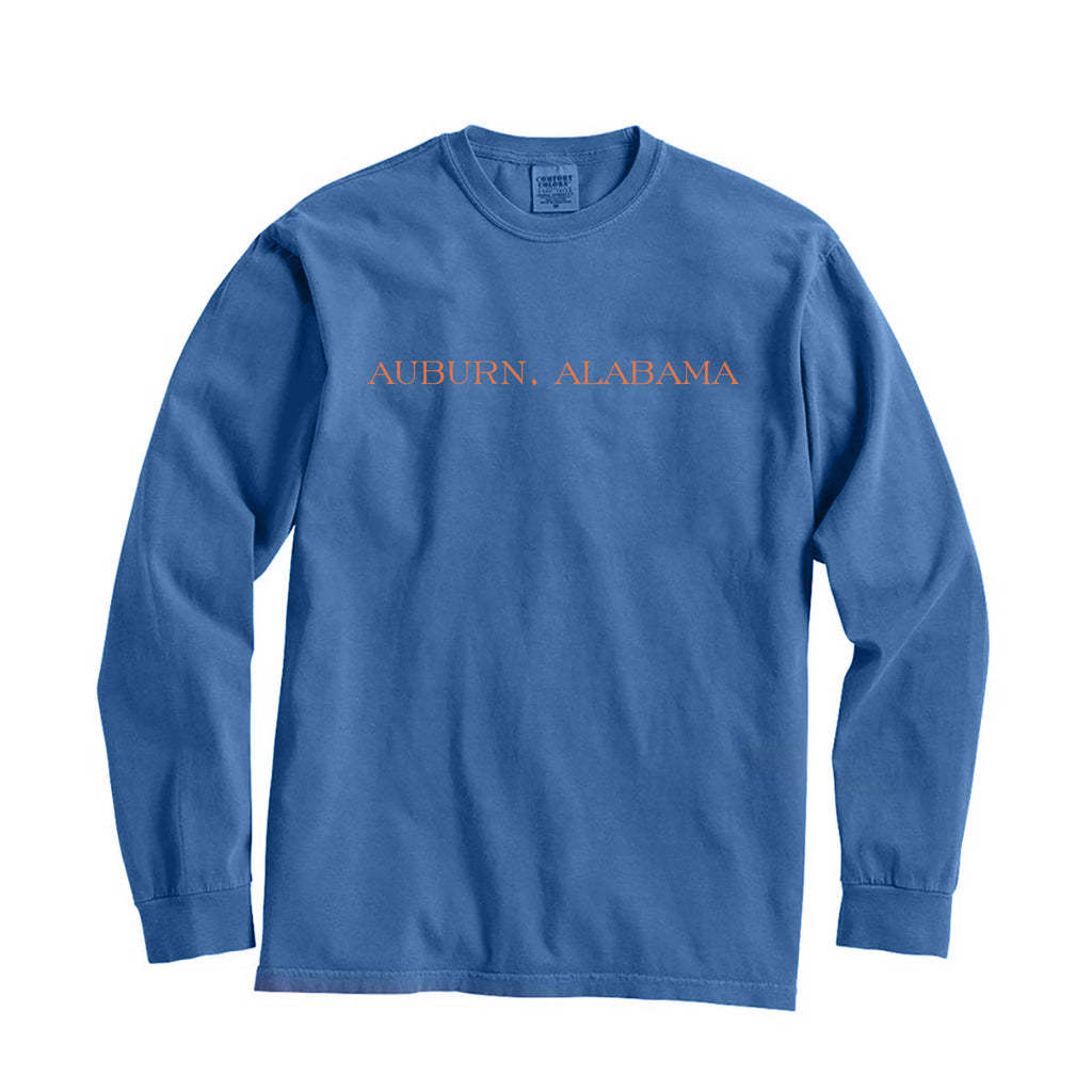Auburn, Alabama City Series Long Sleeve T-Shirt