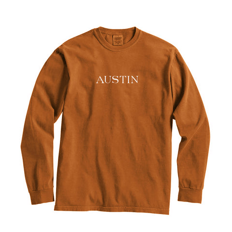Texas Austin City Series Long Sleeve T-Shirt