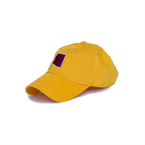 Arizona Tempe Gameday Hat Gold