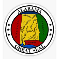 Alabama State Seal Sticker