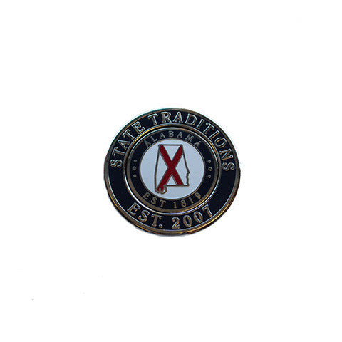 Alabama Traditional Duo Golf Ball Marker