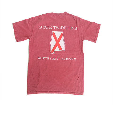 Alabama Traditional T-Shirt Crimson