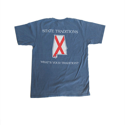 Alabama Traditional T-Shirt Blue