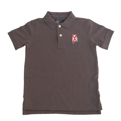 Alabama Traditional Youth Polo Grey