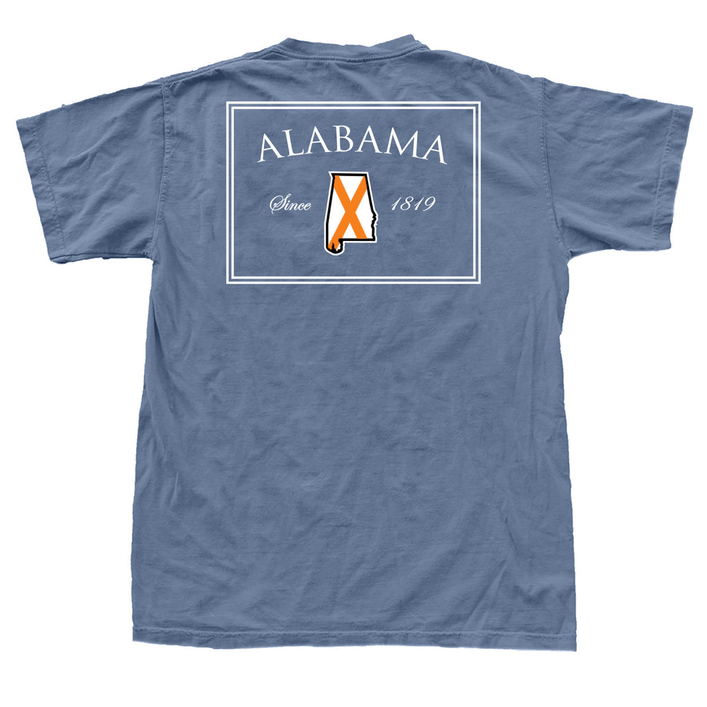 Alabama 1819 T-Shirt Navy