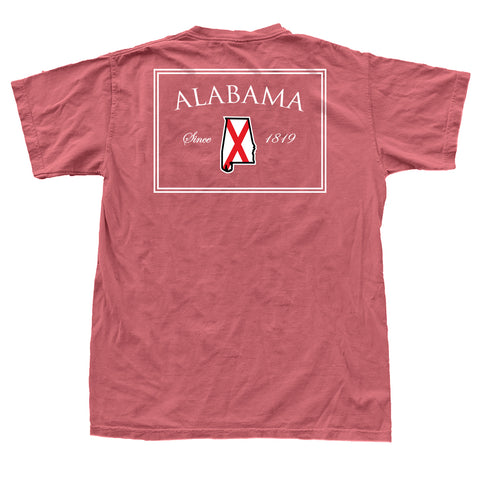 Alabama 1819 T-Shirt Crimson