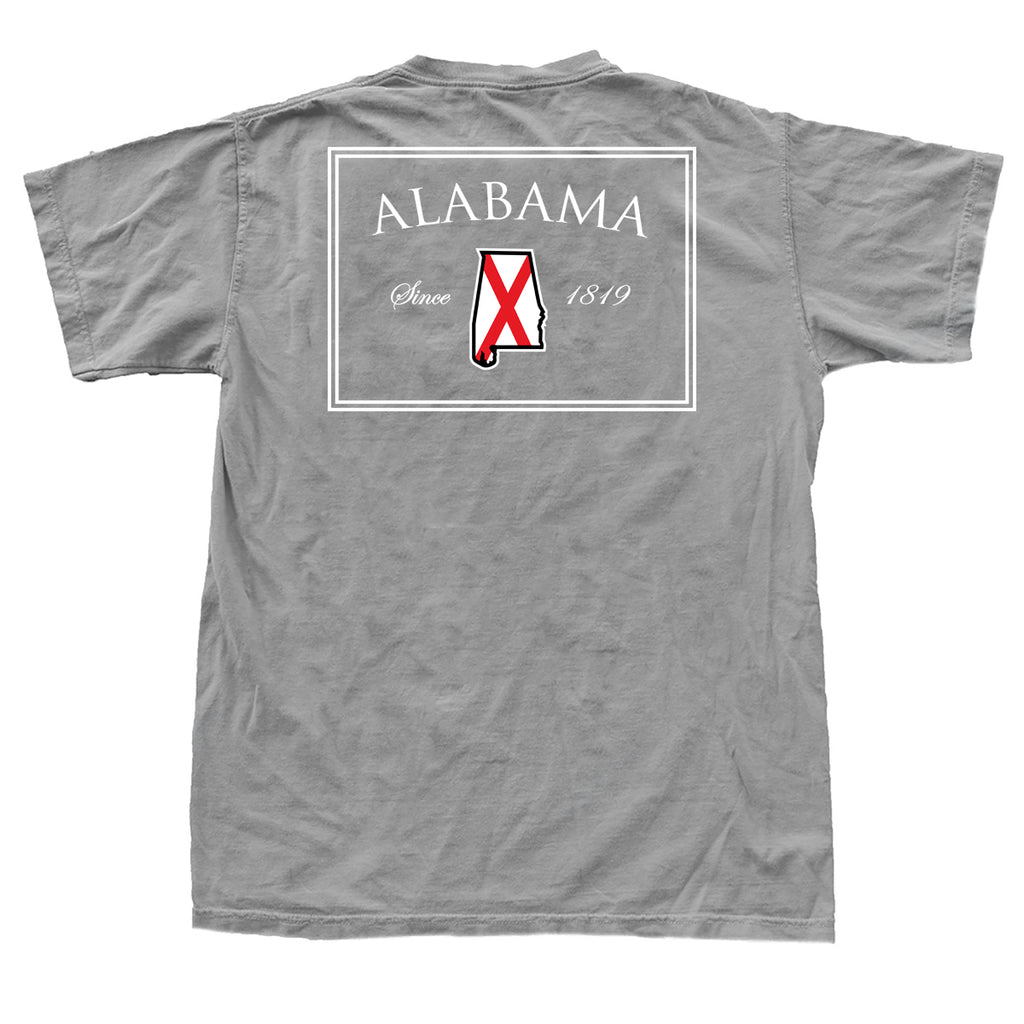 Alabama 1819 T-Shirt Grey