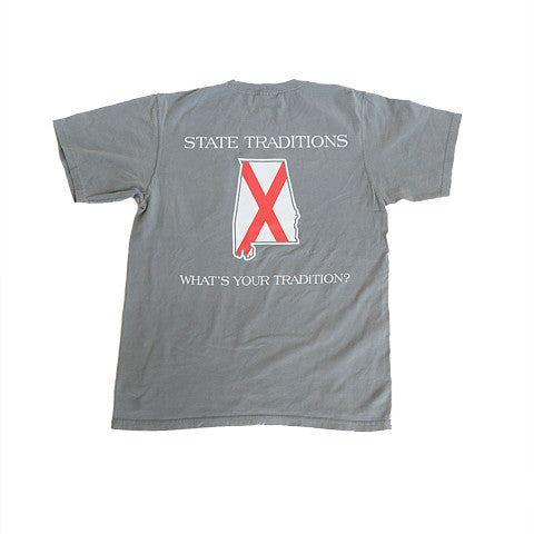 Alabama Traditional T-Shirt Grey