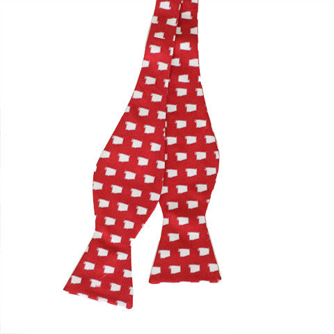 Alabama Tuscaloosa Gameday Bow Tie Crimson