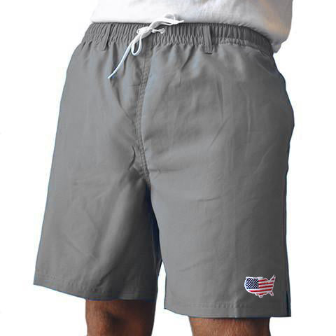 America Traditional Swimwear Grey