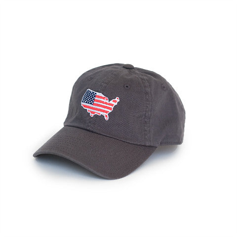 America Traditional Hat Charcoal