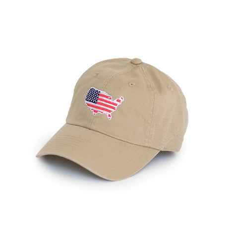 America Traditional Hat Khaki