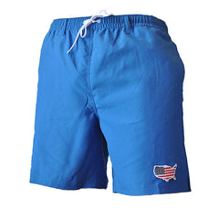 America Swim Trunks Budweiser USA Patriotic Merica Murica Donald Trump Father's Day Gift Gift for Dad Badass