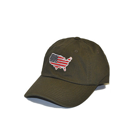 America Traditional Hat Olive