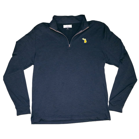 Michigan Ann Arbor Gameday Cahaba 1/4 Zip Pullover
