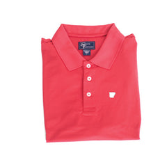 Arkansas Fayetteville Clubhouse Performance Polo Red