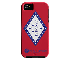 Arkansas Flag iPhone Case