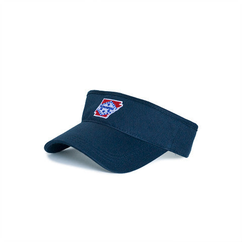Arkansas Traditional Hat Visor Navy