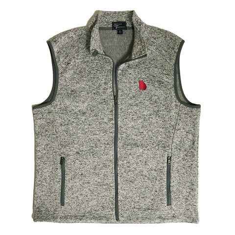 Georgia Athens Gameday Heather Sweater Vest