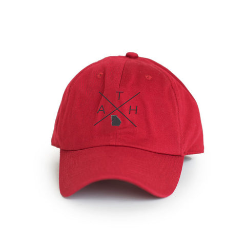 "Georgia Athens ""ATH"" Gameday Crossing Hat"