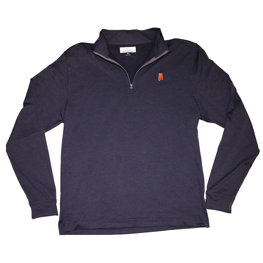 Auburn Gameday Cahaba 1/4 Zip Pullover