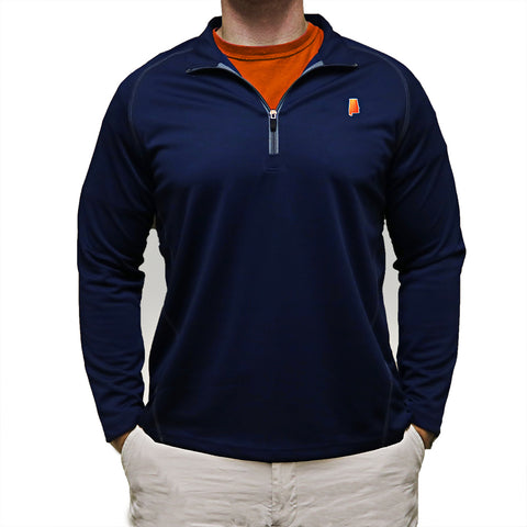 Alabama Auburn Gameday Performance Pullover Navy