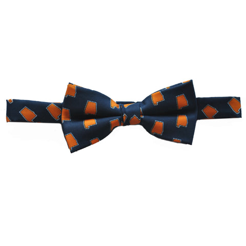 Alabama Auburn Gameday Youth Bow Tie