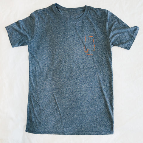 Auburn Performance T-Shirt Navy