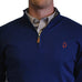 Alabama Auburn 1/4-Zip Pullover Royal