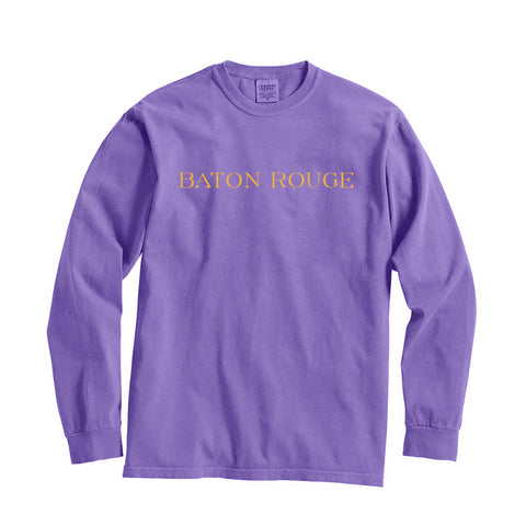 Louisiana Baton Rouge City Series Long Sleeve T-Shirt