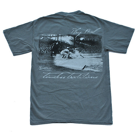 Timeless Traditions Baseball T-Shirt Grey