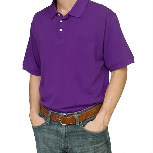 Blank Polo Purple