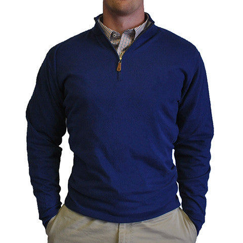 1/4-Zip Pullover Royal