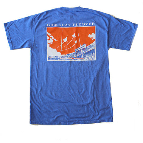 State Traditions Gameday Flyover T-Shirt Blue and Orange