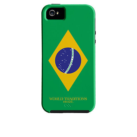 Brazil Flag iPhone Case