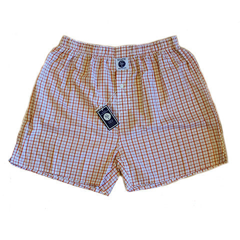 State Traditions Boxers Burnt Orange