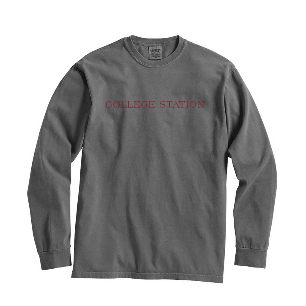 Texas College Station City Series Long Sleeve T-Shirt