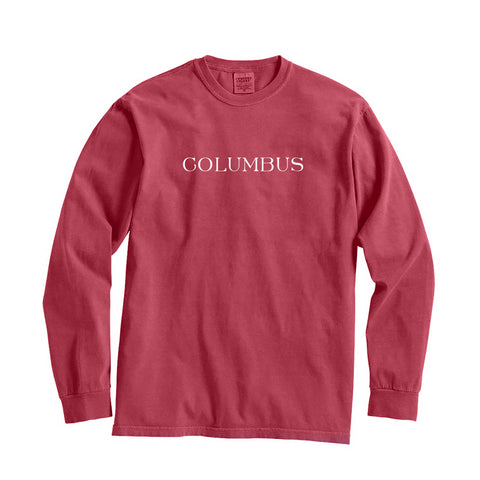 Ohio Columbus City Series Long Sleeve T-Shirt