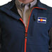 Colorado Flag Patch - Soft Shell Vest Navy with Red Trim