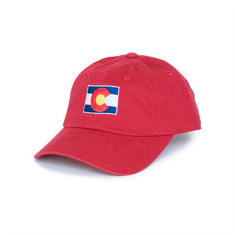 Colorado Traditional Hat Red