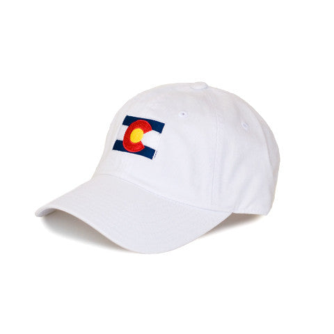 Colorado Traditional Hat White