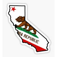 California Traditional Sticker