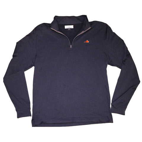 Virginia Charlottesville Gameday Cahaba 1/4 Zip Pullover