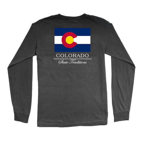 Colorado State Flag Long Sleeve T-Shirt