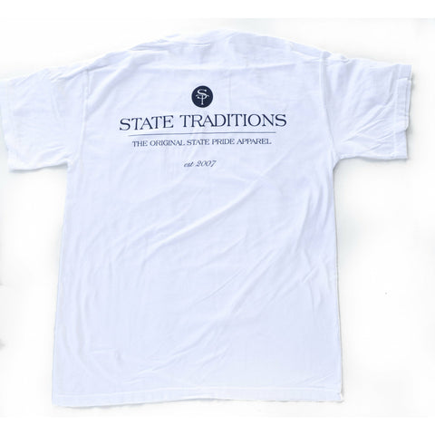 State Traditions Logo T-Shirt White