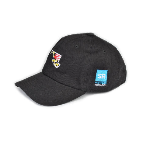 MarylandTraditional Hat Black w/ SR Logo