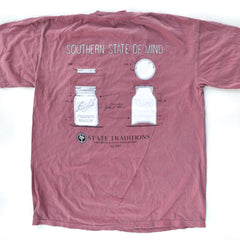 Mason Jar T-Shirt Brick